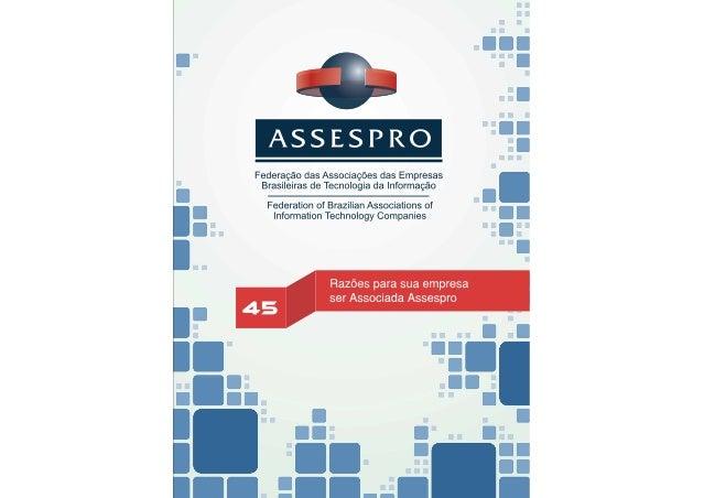 45 Razões para Ser Associado ASSESPRO