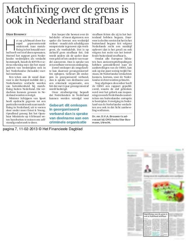 pagina 7, 11-02-2013 © Het Financieele Dagblad