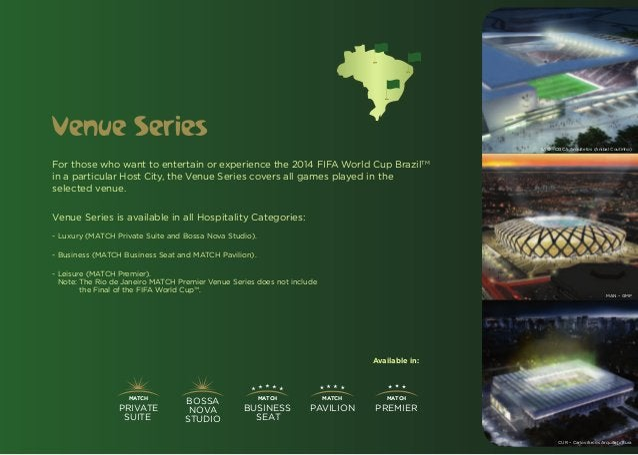 Venue Series                                                                                                  SAO – CDCA A...