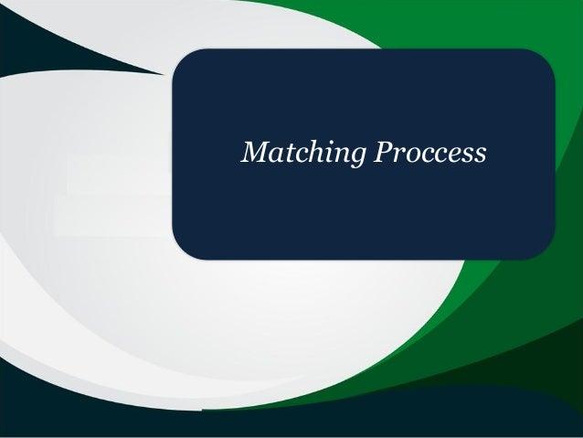 Matching Proccess