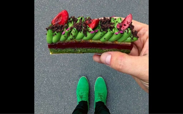 Tal Spiegel, a pastry chef in Paris, matches his shoes to his desserts and has become an Instagram star