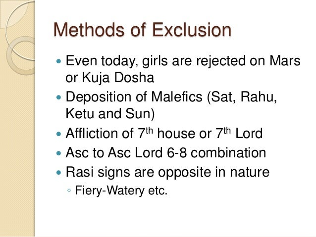 KPDP disadvantages..  It is time consuming. Working out so many parameters just for finding out marital harmony alone is ...