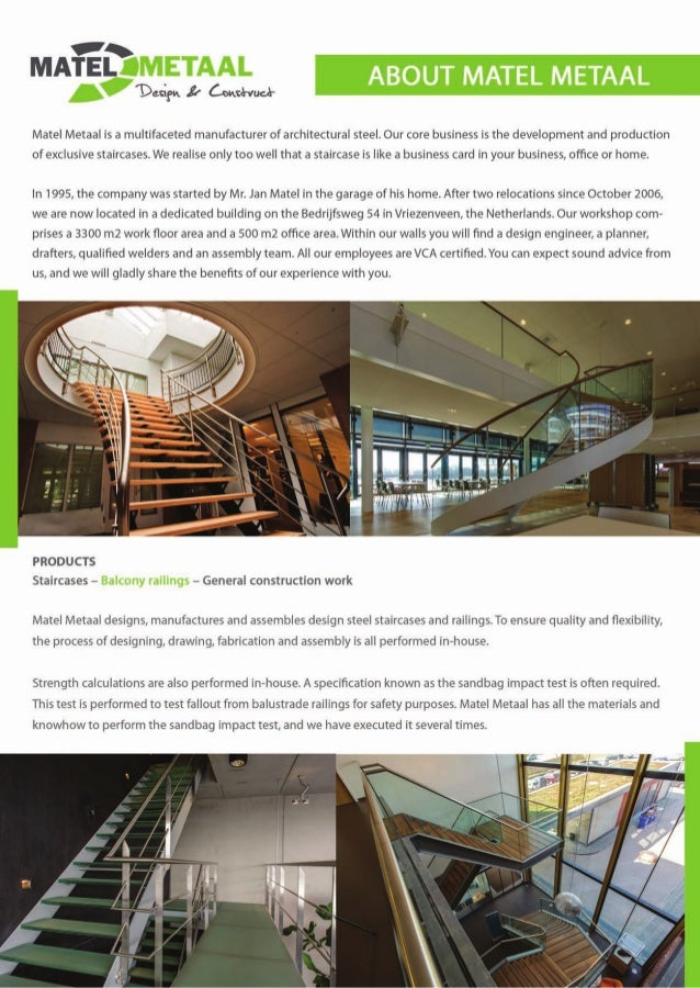 Company Profile Matel Metaal Design Construct Partner Twenafric