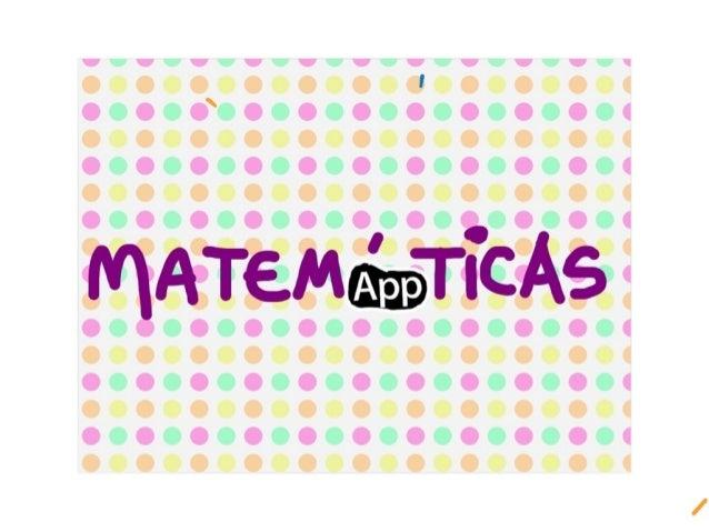 Presentación Matemáppticas
