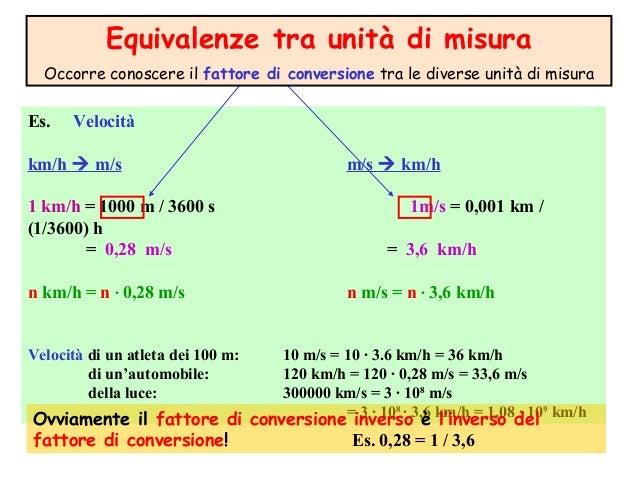 Matematica - Conversione unita di misura portata ...