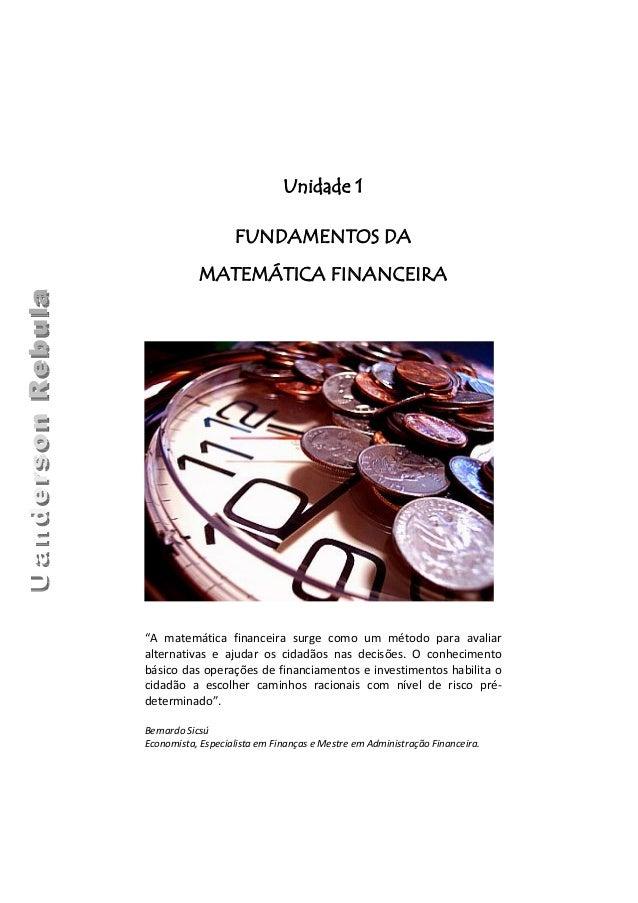 Matematica Financeira Livro Pdf