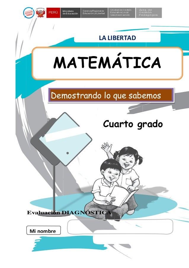 Matematica cuarto-grado