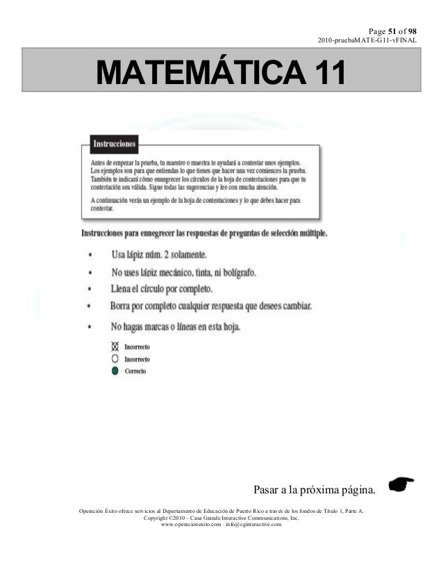 Matematica 11 version a,b,c,d[1]