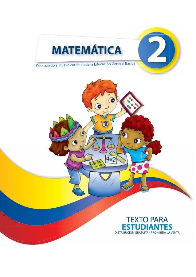 Matemática de Segundo Año de EGB