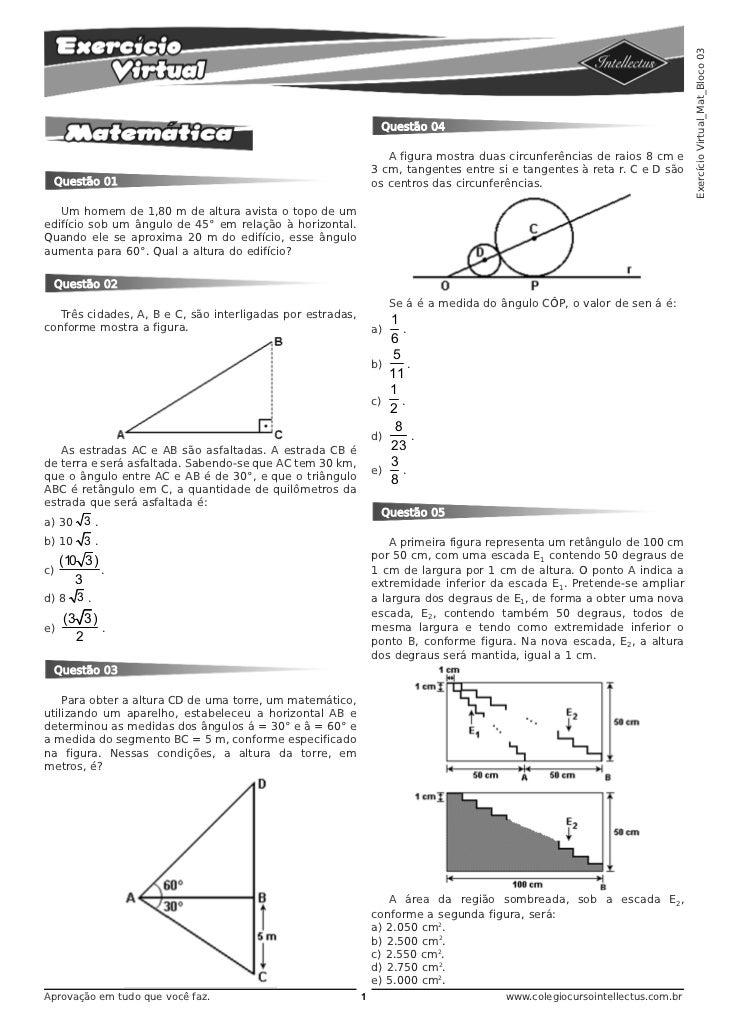 Exercício Virtual_Mat_Bloco 03                                                                 Questão 04                 ...