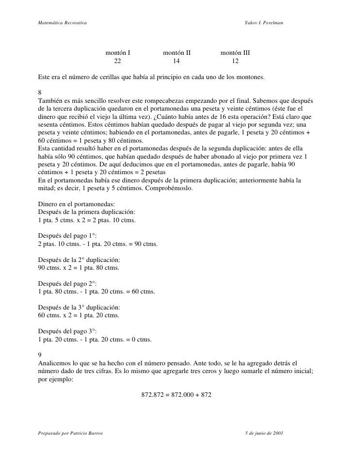 Matematica Creativa Perelman