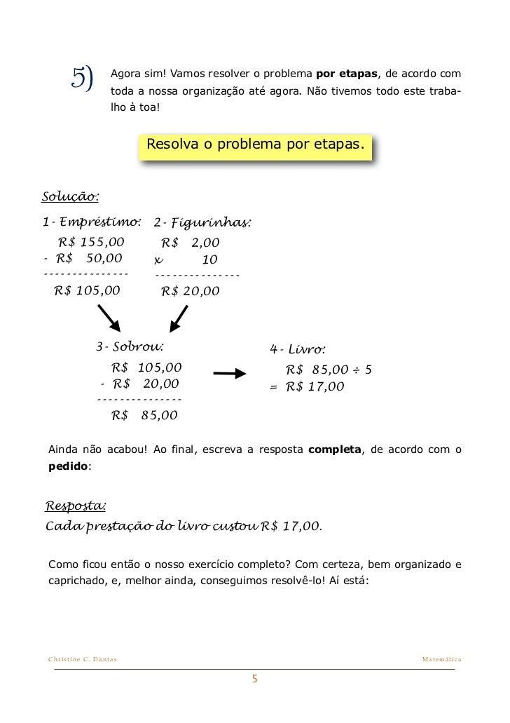 Matematica Dicas Como Resolver Problemas