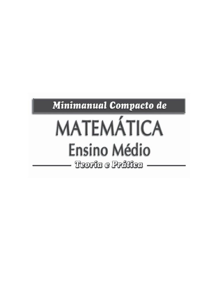 Matematica ensino médio