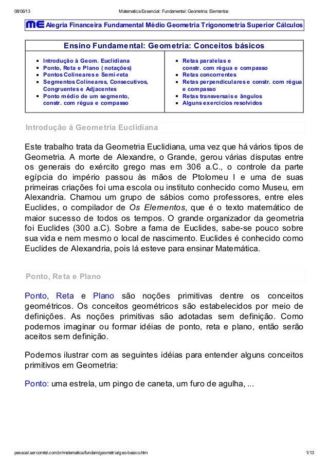 08/06/13 Matematica Essencial: Fundamental: Geometria: Elementospessoal.sercomtel.com.br/matematica/fundam/geometria/geo-b...