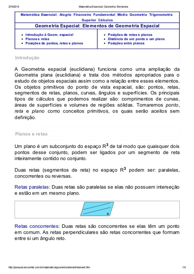 27/6/2014 Matematica Essencial: Geometria: Elementos http://pessoal.sercomtel.com.br/matematica/geometria/element/element....