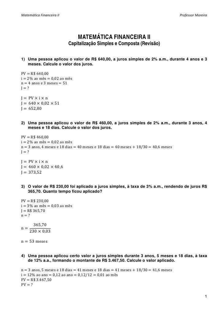 Matematica exercicios lista1 capitalizacao_gabarito
