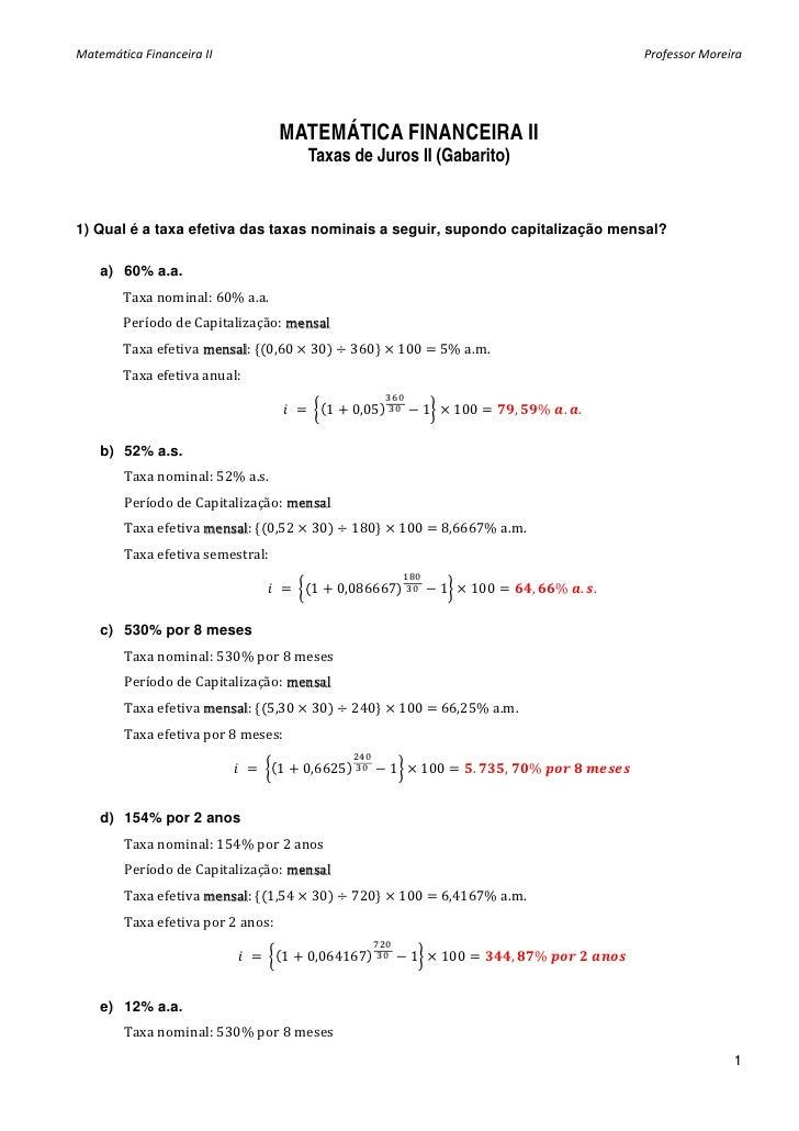 Matematica exercicios lista3 taxas_juros_ii_gabarito
