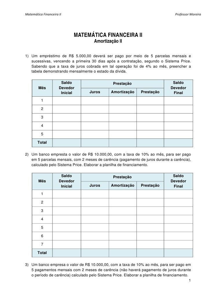 Matematica exercicios lista amortiza_o_ii