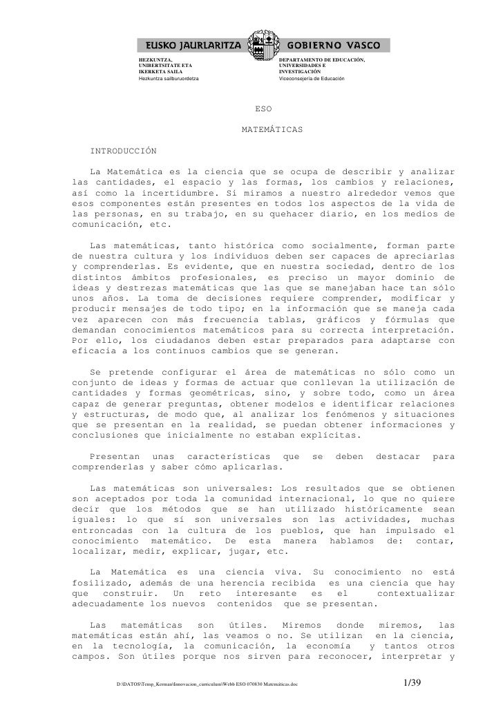 HEZKUNTZA,                                                DEPARTAMENTO DE EDUCACIÓN,                UNIBERTSITATE ETA     ...
