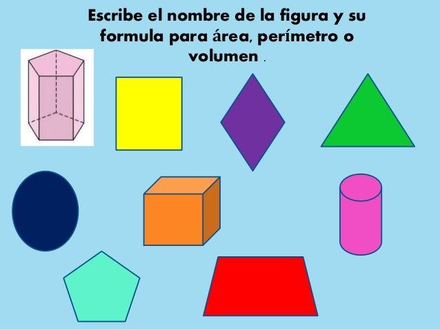 Areas y volumenes de las principales figuras geometricas for Las formas geometricas