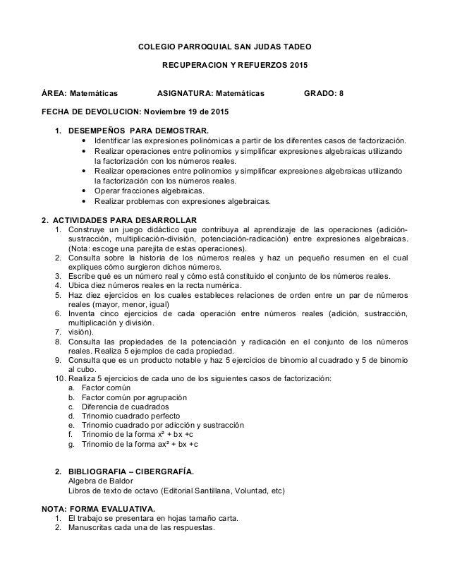 Famoso Expresiones Algebraicas Hojas De Trabajo De Grado 8 Imágenes ...
