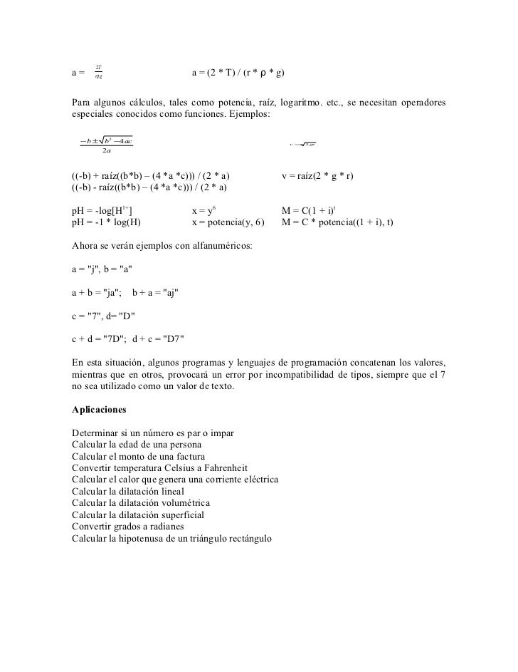 Matematicas aplicadas a la computacion