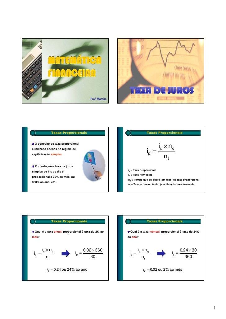 Matematica slides taxas2