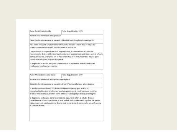 Mi propia definición del diagnostica:Diagnóstico: proceso de estudio para medir, determinar y caracterizar particularidade...