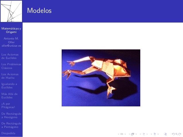 Matematica y origami Slide 3