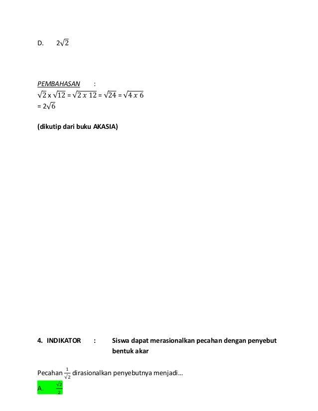 Kunci Jawaban Buku Akasia Smp 2020 Gudang Kunci