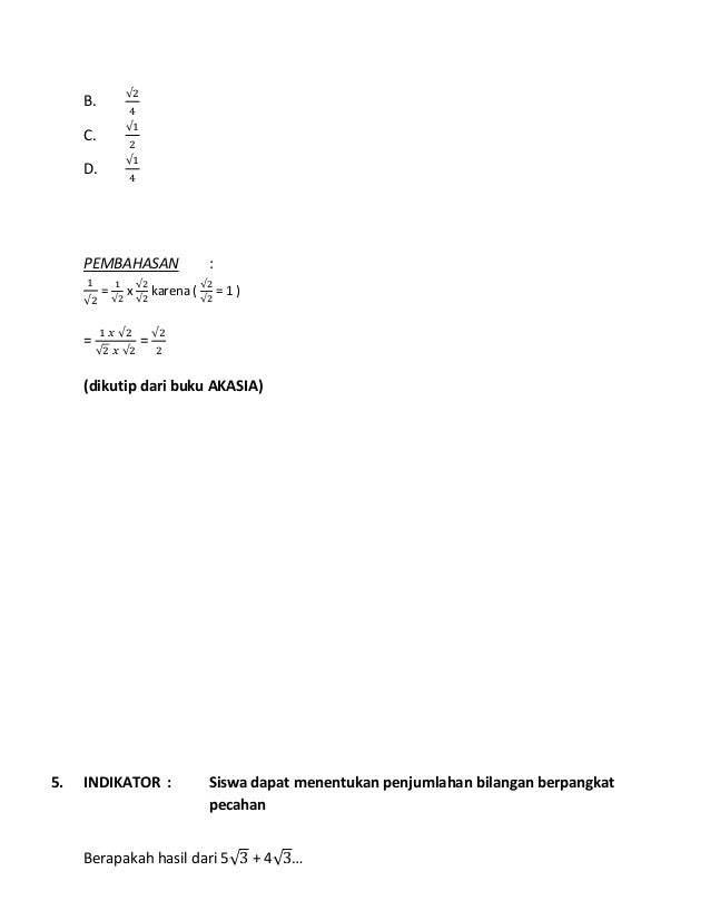 Kunci Jawaban Buku Akasia Bahasa Indonesia Kelas 9 2018 Ilmusosial Id