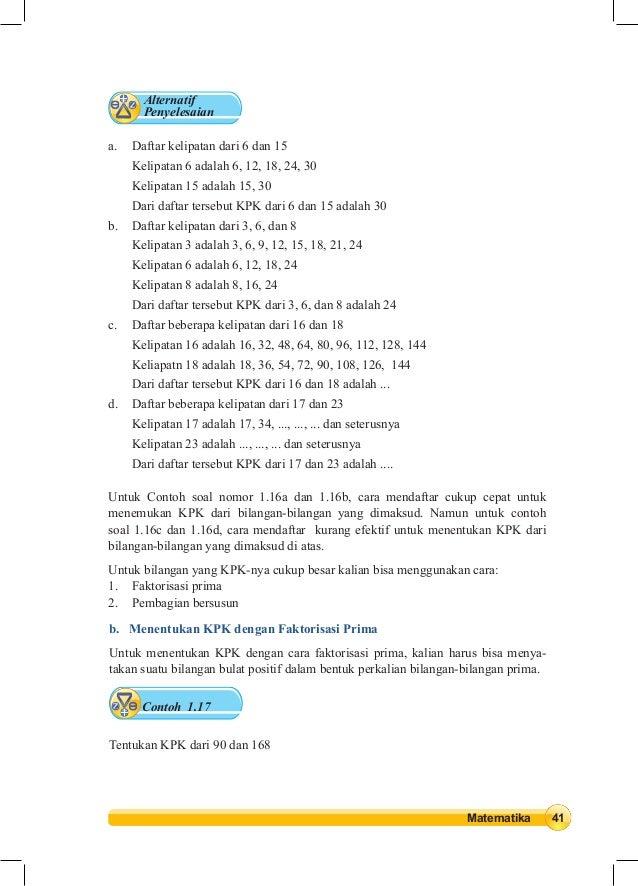 Viral Kunci Jawaban Buku Lks Matematika Kelas 7 Semester 1