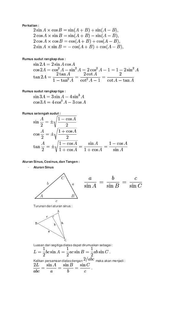 Contoh Soal Limit Trigonometri Dan Pembahasan