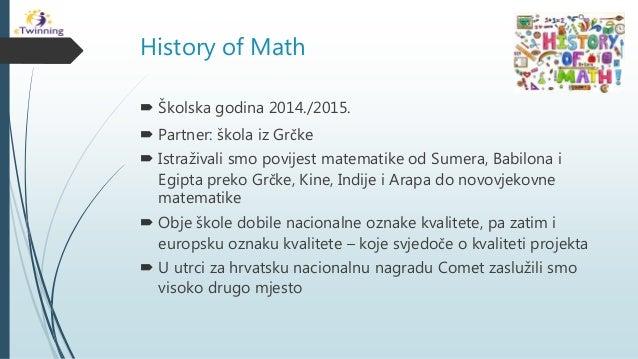 Matematički projekti Slide 2