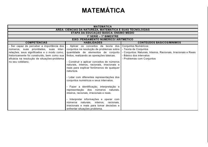 MATEMÁTICA                                                                    MATEMÁTICA                                  ...