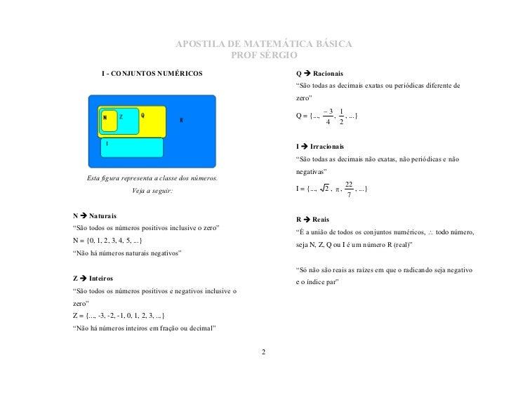 MatemáTica BáSica Slide 2