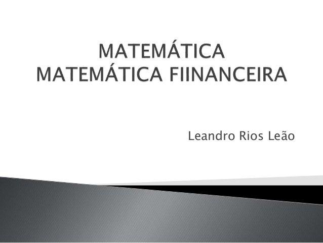 Leandro Rios Leão