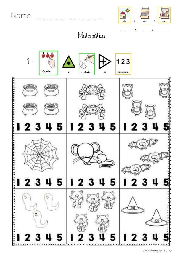 Matemática 1 - Nome: ____________ _________/ _________/_________ Conta rodeia Sónia Rodrigues/2016