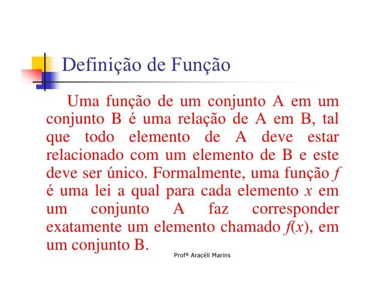 MatemáTica Intro FunçõEs Slide 3