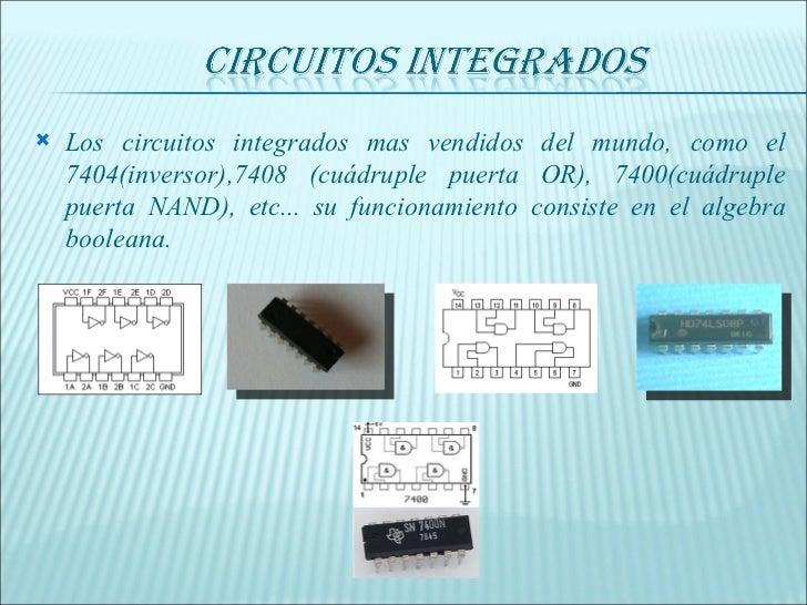 Circuito Integrado 7404 : Matemáticas diapositivas