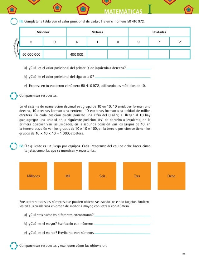 Matemáticas I Telesecundaria (volúmenes 1 Y 2 JUNTOS)