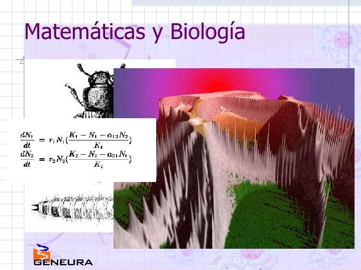 Matemáticas y Biología