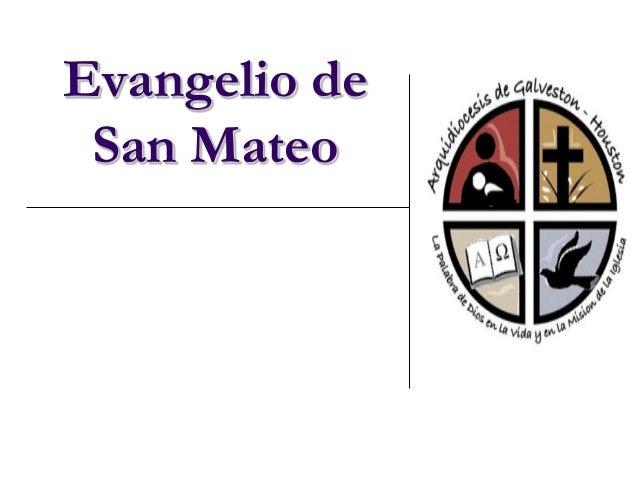 Evangelio de San Mateo