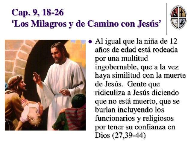 Resultado de imagen para Mateo 9,18-19