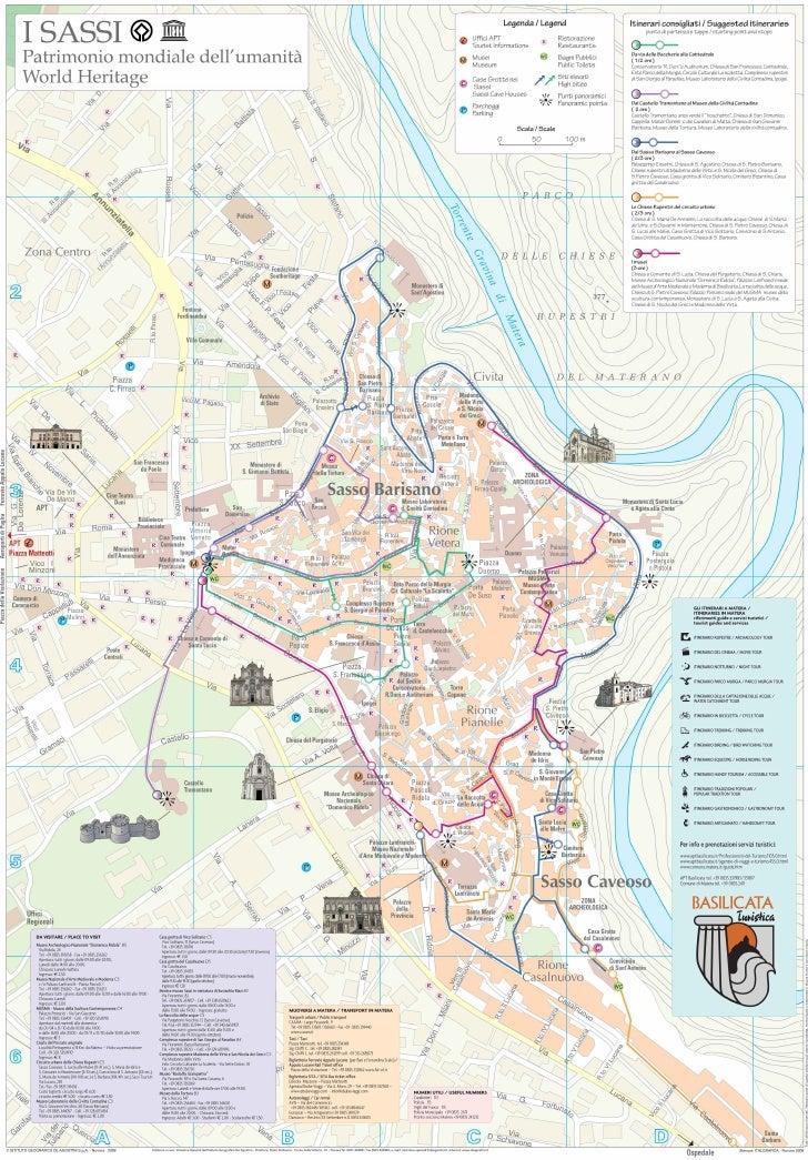 Matera City Map
