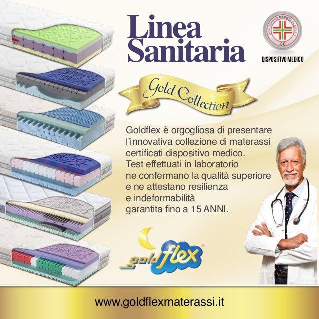 Goldflex Materassi.Materassi Sanitari