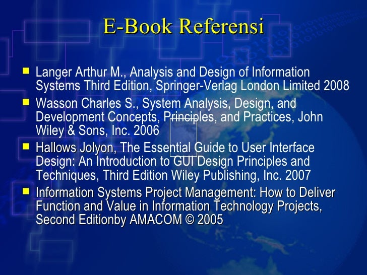 information systems development methodologies techniques and tools 4th ed pdf