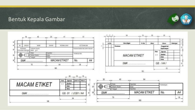 Etiket Gambar – implementasi