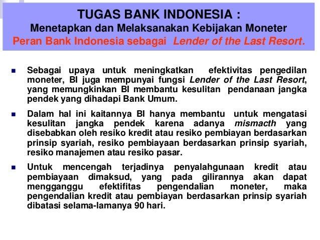 Bank Sentral : Bank Indonesia (Ekonomi Moneter - BAB 3)