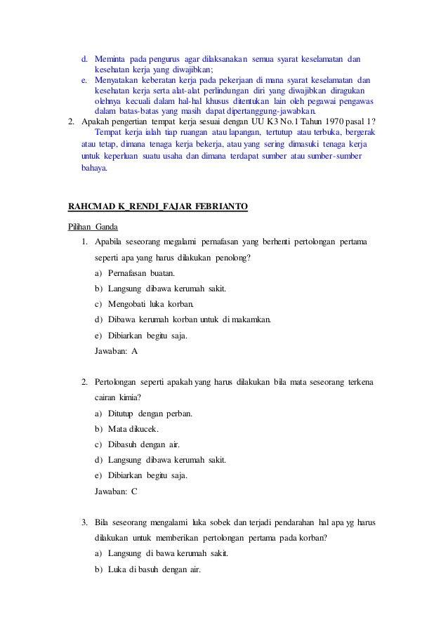 Contoh Soal P3k Pilihan Ganda Dan Jawabannya Barisan Contoh